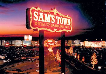 Sam's Town Tunica Mississippi..This is where i stay most of the time!!