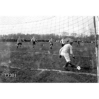 Football 1913 by Aalborg Stadsarkiv, via Flickr