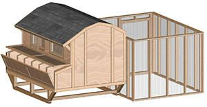 how to build a cheap chicken coop - several plans