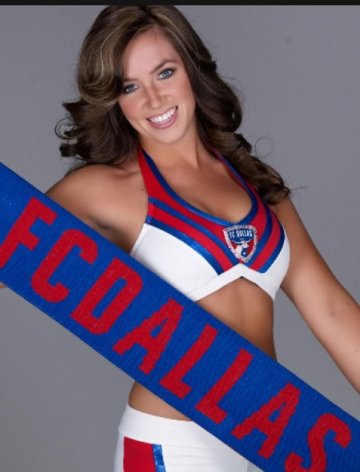 FC Dallas cheerleader