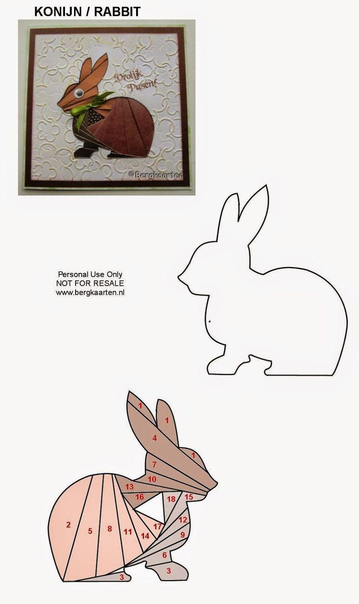 Rabbit Iris Fold Pattern