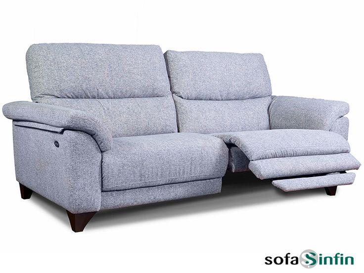 Sofá relax de 3 + 2 plazas y sillón modelo Aldo fabricado por Losbu en Sofassinfin.es
