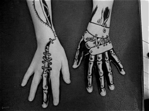 skeletal tattoos - Google Search