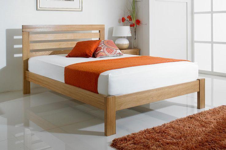 Goodwood Solid Oak Bed Frame 5ft - King Size | The Oak Bed Store