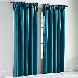 Teal Curtains Bedroom Pinterest