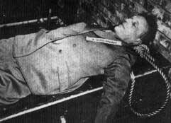 Body of Julius Streicher