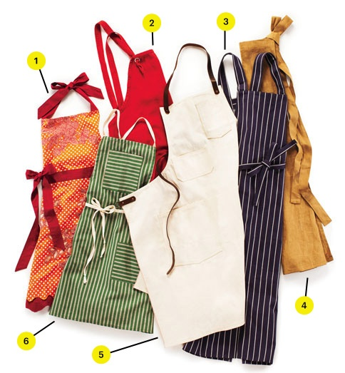 Our 6 Favorite Aprons