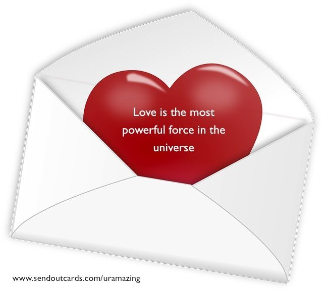 Live your life from love for it will come back tenfold