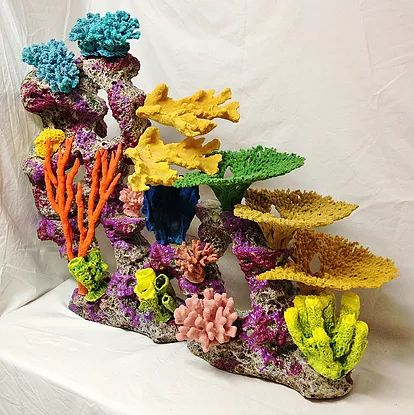 25 best ideas about fake fish tank on pinterest world for Artificial coral reef aquarium decoration inserts