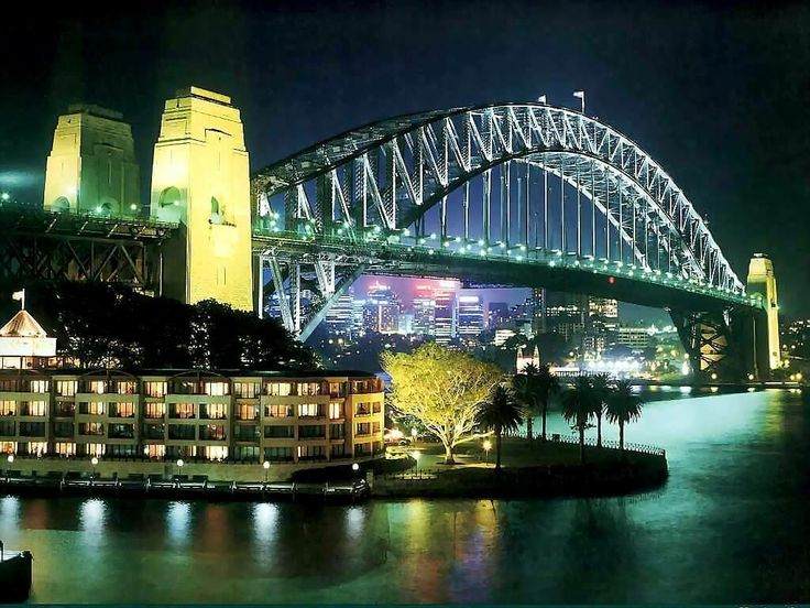 Sydney Harbour Bridge - always takes the breath away