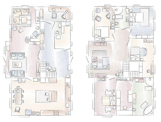 Grundriss – Ginas Zuhause in Norwegen