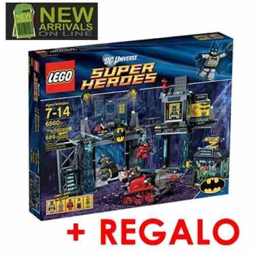 Lego Batman Super Heroes 6860 Baticueva Con Trucos De Batman