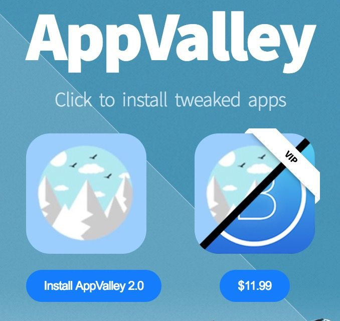 AppValley 2.0 for iOS 11 Released, Download without Jailbreak and ...