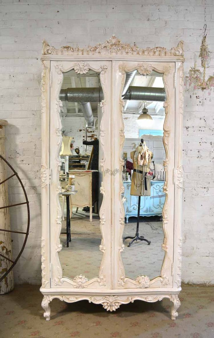 25 best ideas about vintage mirrors on pinterest for Shabby chic furniture