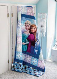 Frozen Sisterly Love Quilt Digital Pattern from ShopFonsandPorter.com