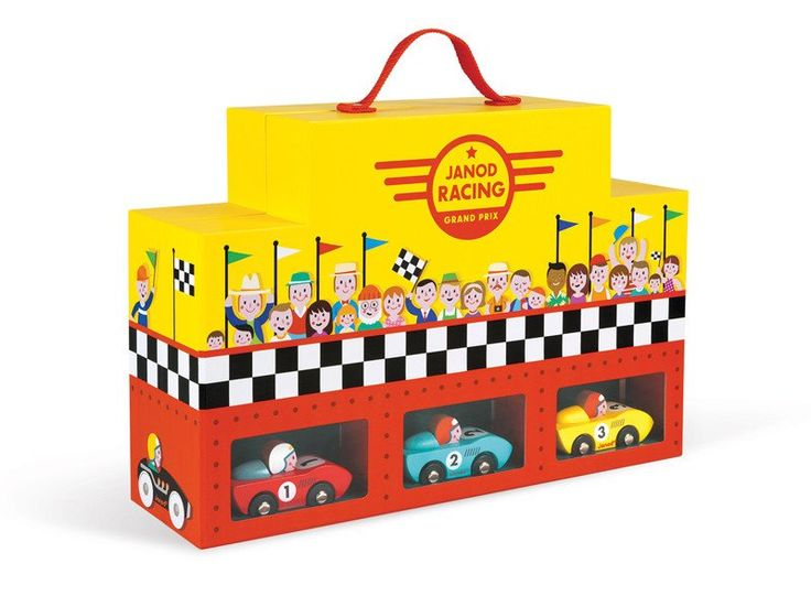 JANOD Grand Prix Playset Racing car set with track and cars #toys2learn  #cars #racing  #travel  #children #kids #toys #janod
