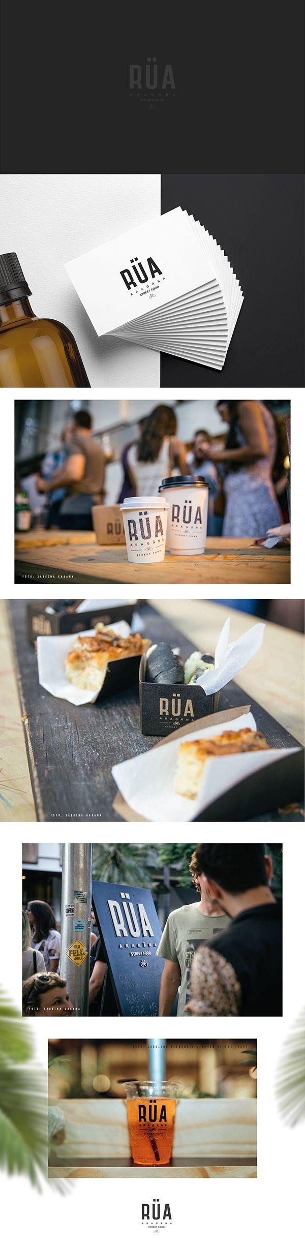 Este foi um projeto de criação de identidade visual para RÜA. A RÜA é um Street Food criado pela Aragäna, uma marca de moda originada em Porto Alegre (RS).