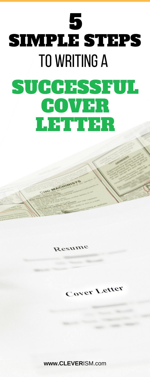 5 Simple Steps to Writing a Successful Cover Letter   Career ...