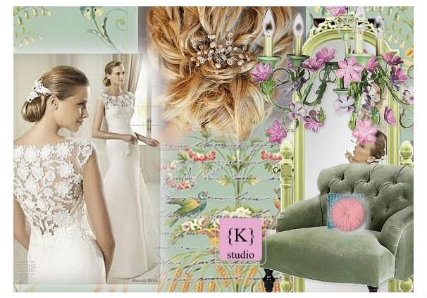 ~tea on bride's room~