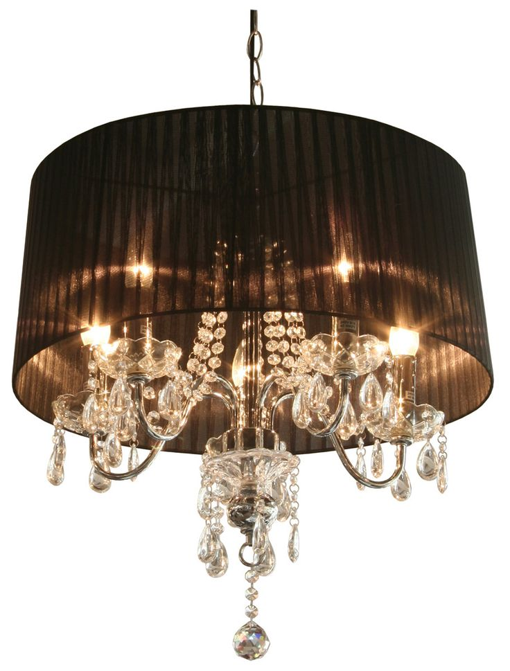 House Additions Navile 8 Light Drum Chandelier