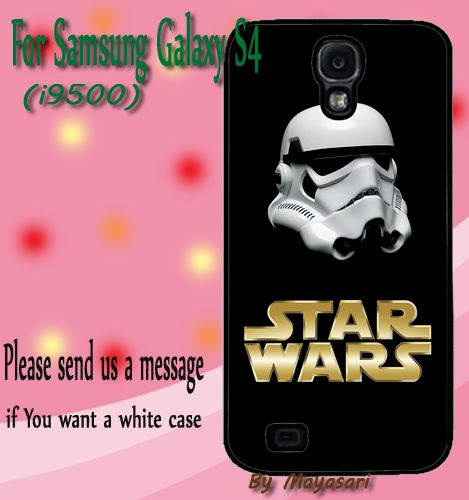 Strom Trooper Star Wars Gift Print On Hard Plastic Samsung Galaxy S4, Black Case  Show off your signature style with a cool and customizable hard shell case for your Samsung Galaxy S4 I9500. Combining