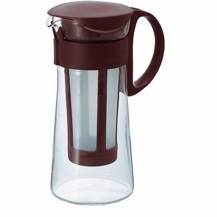 The Mizudashi Cold Brew Coffee pot is made with high quality heatproof glass, as with all the Hario products.