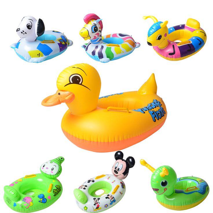 Baby schwimmen neck float piscine kinder aufblasbaren donut swimtrainer boia para schwimmring aufblasbare baby-schwimmen-ringhals