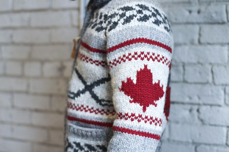 We are totally digging this limited edition Cowichan Sweater. Available at Over the Rainbow in Toronto
