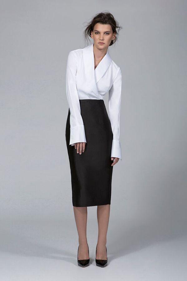 Ty-lr - The Blazer Shirt - White