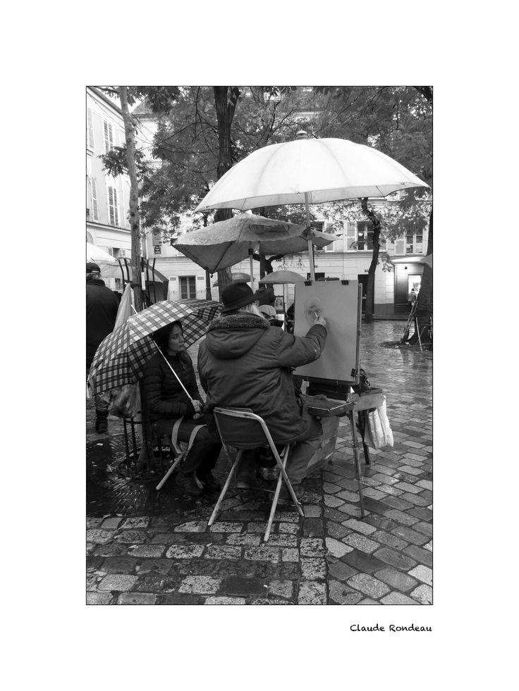 Paris, Montmartre place du Tertre