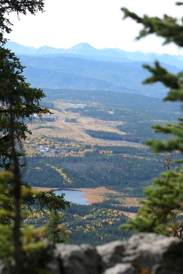 Western Alberta in the fall
