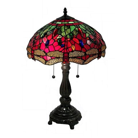 Image Result For Red Dragonfly Tiffany Table Lamp