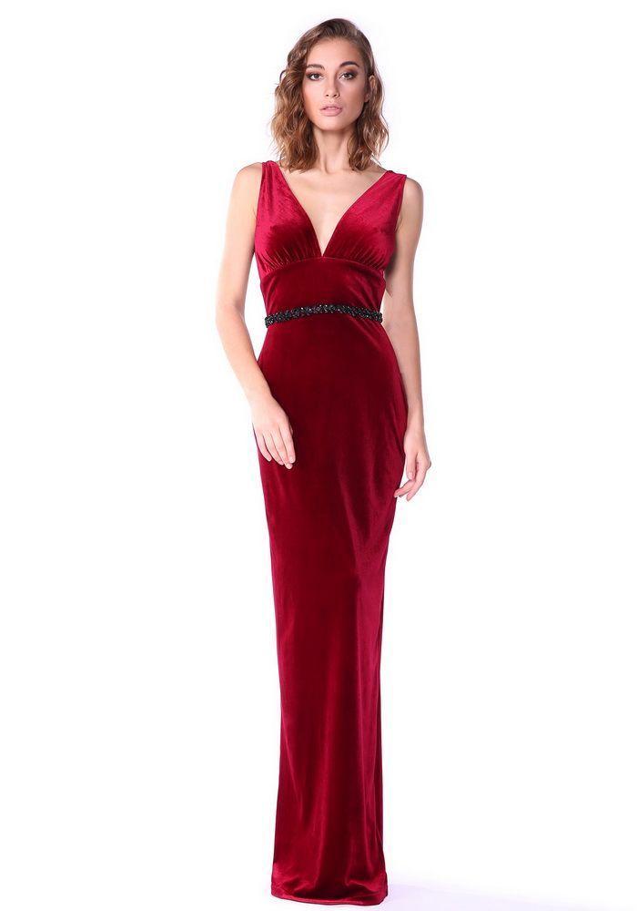 Платье в стиле 30-х на Новый год 2017. Красный шик!