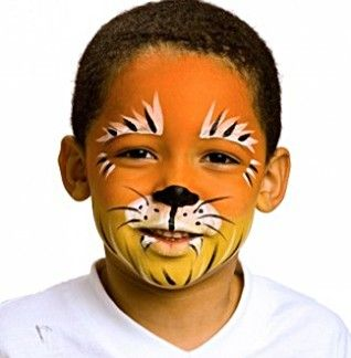 Tiger - AnimalsFace Paint Ideas - How to Face Paint | Snazaroo