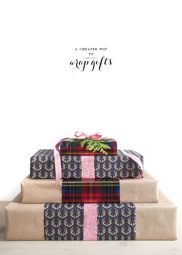 To get get more gifts out of one roll of wrapping paper | House of Earnest