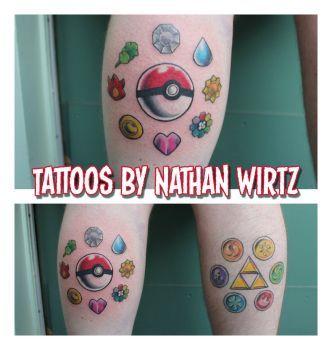 Tattoos by bbqedmarv on DeviantArt
