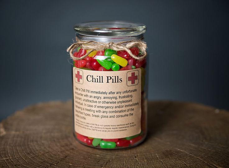 Chill Pill for PROFESSIONALS office staff by scripturegifts