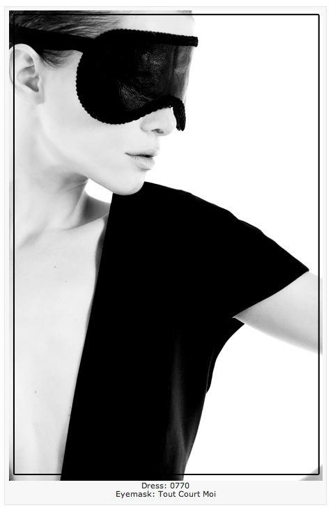 TOUT COURT MOI Eyes mask- Editorial Fault magazine