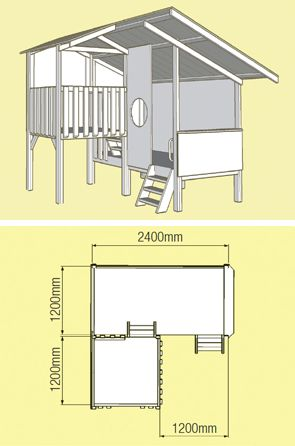 Cubby House For Sale| Kids Cubby Houses Wooden Kits | DIY - MyCubby