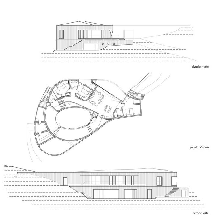 Casa urrezkoenea memoria links for Arquitectura parametrica pdf