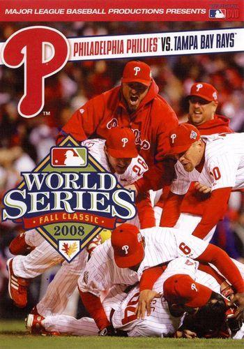 MLB: 2008 World Series - Philadelphia Phillies vs. Tampa Bay Rays [DVD] [2008]