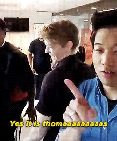 Thomas and Dexter Darden in Kihong's snapchat gif