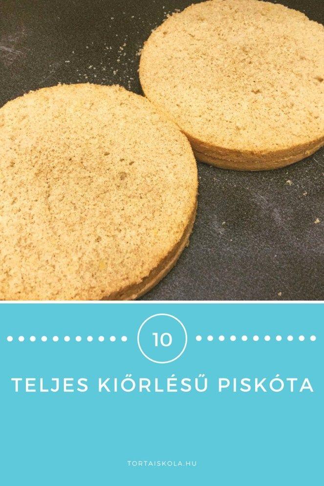 Teljes kiőrlésű piskóta recept – Tortaiskola