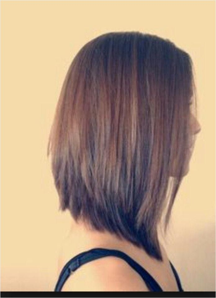 Short In Back Long In Front Frisuren Classy Gallery Glatt Frisuren Medium Bob Frisuren Classy Frisuren Hair Styles Long Bob Haircuts Angled Bob Hairstyles