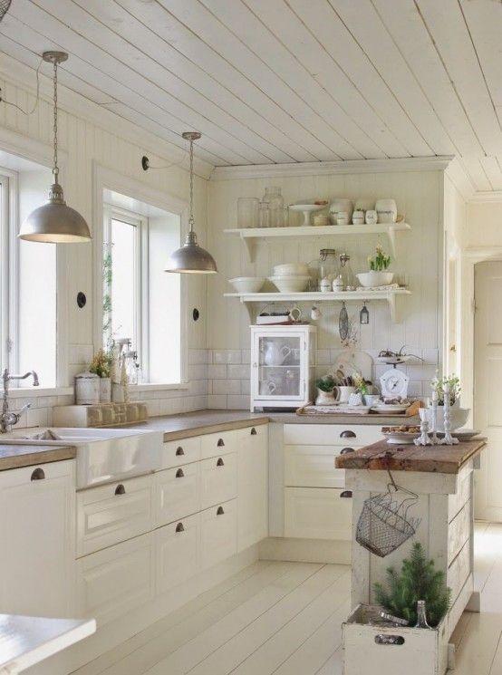 Best 25 White kitchen decor ideas on Pinterest