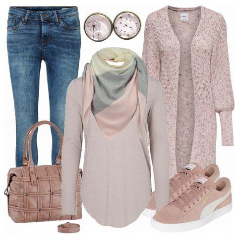 Freizeit Outfits: WearPink bei FrauenOutfits.de ___ ___ #frauenoutfit #damenoutfit #damenmode #frauenmode