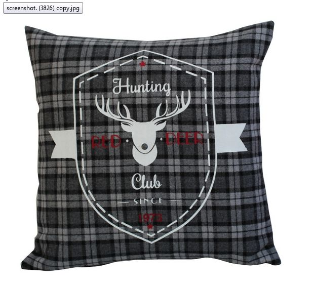 Hunting Louge pillow