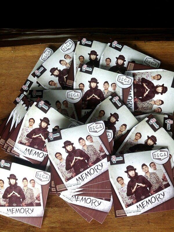 Released CD original DEGA -Memory
