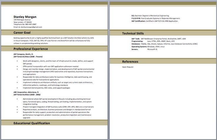 1000 ideas about architect resume on cv