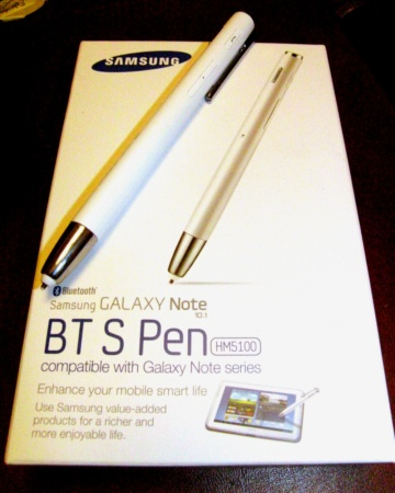 Samsung's James-Bond-like BT S Pen, a tablet and cell phone stylus which
